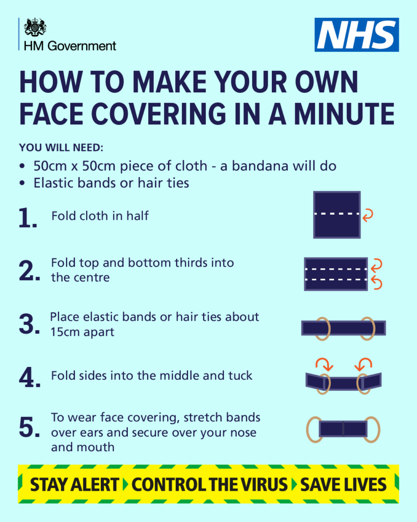 How to Make Your Own Face Covering